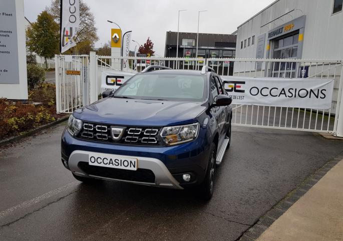 Dacia Duster Techroad Blue Dci 115 4WD gallerie : photo 0