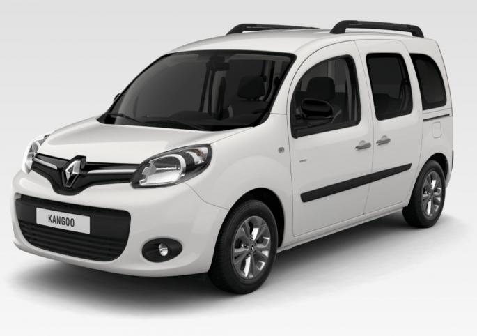 Renault kangoo limited garage de l 39 est for Dimension interieur kangoo utilitaire