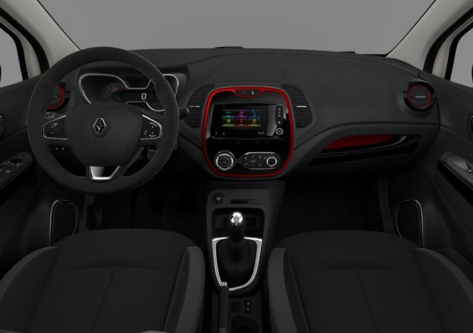 Renault captur extrem garage de l 39 est - Interieur renault captur ...