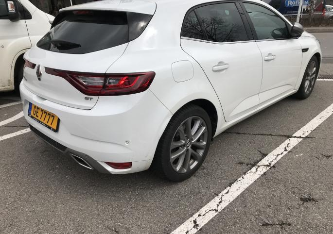 Renault Megane GT gallerie : photo 1